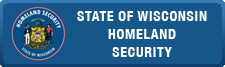 State of Wisconsin Homeland Security Council button